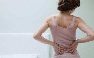 Может ли болеть спина при запорах
