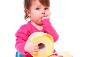 Психологические запоры у детей: методы лечения