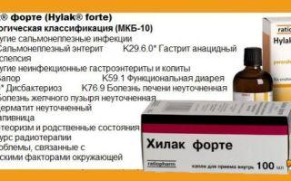Хилак форте: инструкция при беременности