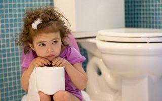 Лечим запоры у детей