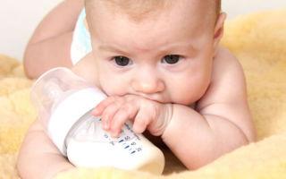 Запор у ребенка в возрасте 4 месяцев: причины и лечение недуга